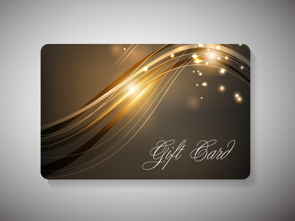 Gift cards. EPF 10.