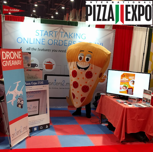 Orders2me Online Ordering System Pizza Expo 2016